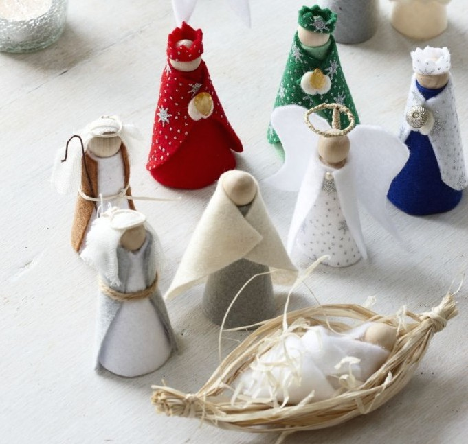 How To Make A Nativity Scene Christmas Craft Ideas For Kids