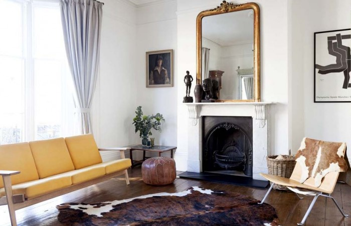 A regency townhouse renovation for Small terraced house living room ideas