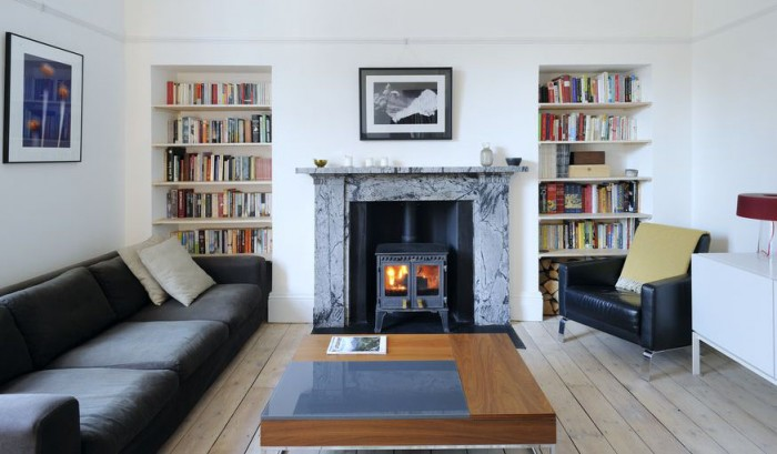 A victorian terrace that 39 s perfectly pared back for Living room interior ideas uk