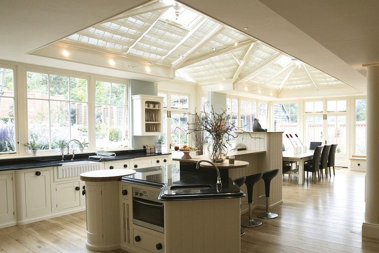 OPEN UP YOUR CEILING WITH A ROOF LANTERN