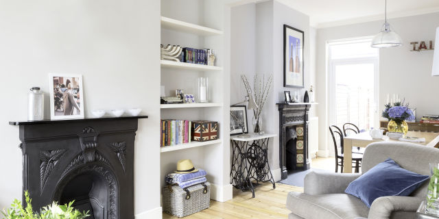 Great Plain Living Room Ideas Victorian Terrace On Design · Stunning In Suburbia Amazing Pictures