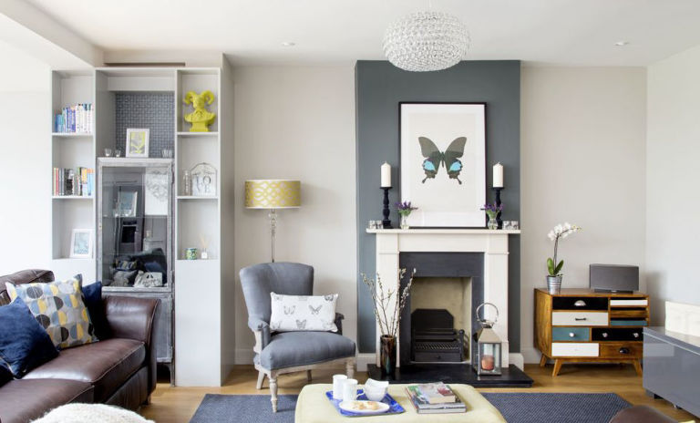 Anita Used A Sofa To Separate The Sitting Area From The Kitchen/dining  Space . Photography: David Giles Part 97