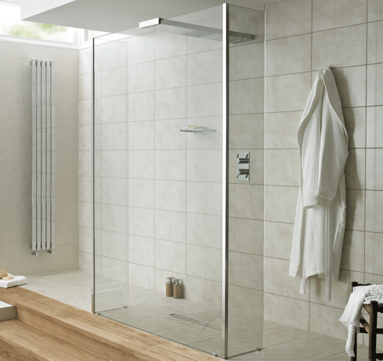 How to create a stunning walk-in shower