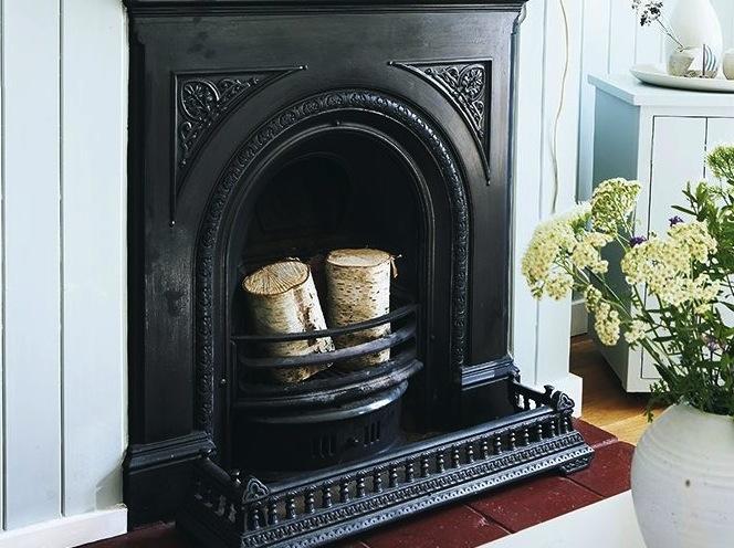 Restoring A Cast Iron Fireplace