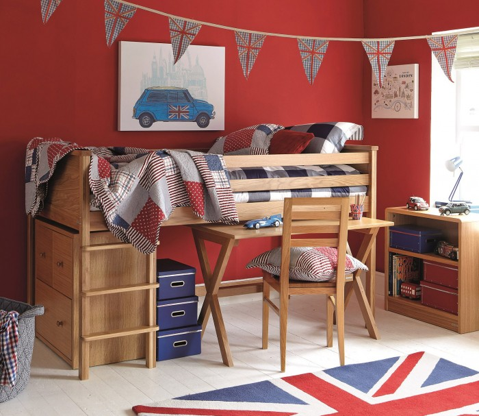 Inspiring Boys Bedroom Ideas on red bedroom design ideas