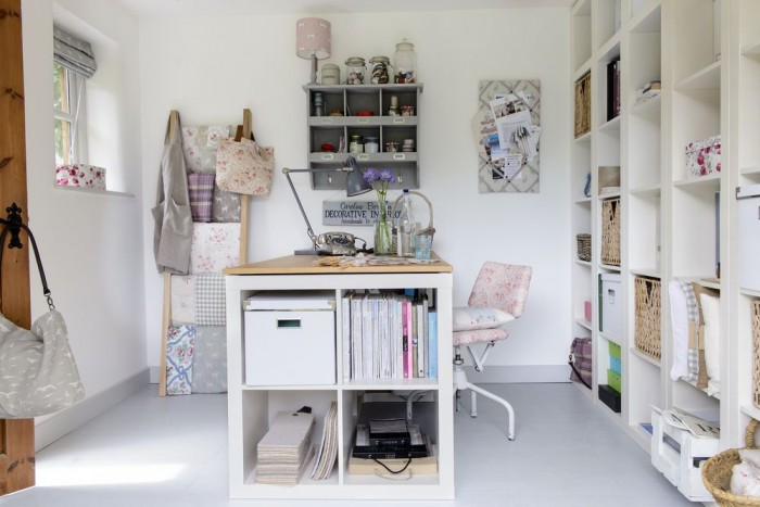 A Beautifully Organised Summerhouse Design Studio