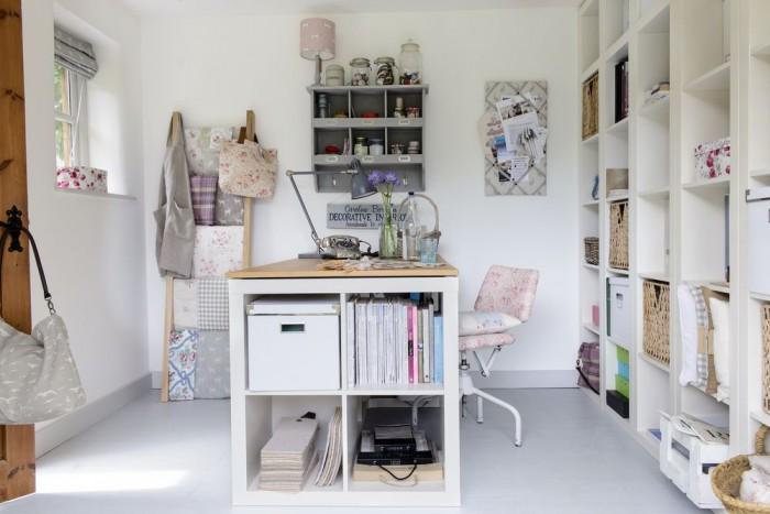 A Beautifully Organised Summerhouse Design Studio