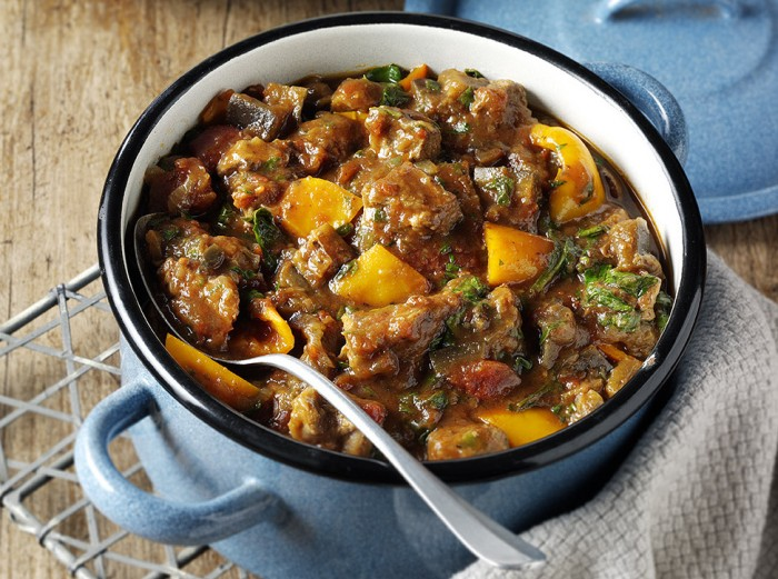 Lamb And Aubergine Pot