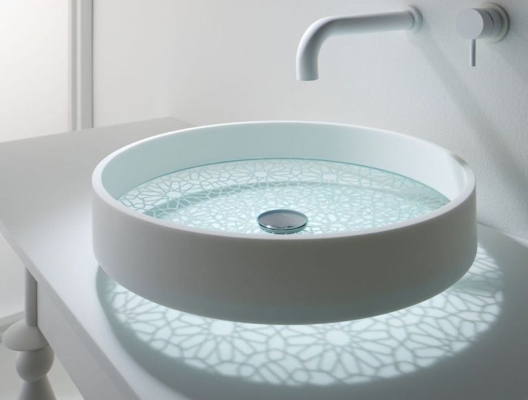 Awesome Motif Kaleidoscope Basin By Omvivo West One Bathrooms