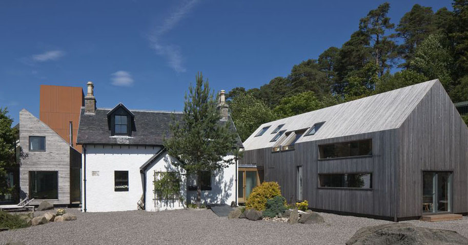 A Modern Farmhouse In The Scottish Highlands