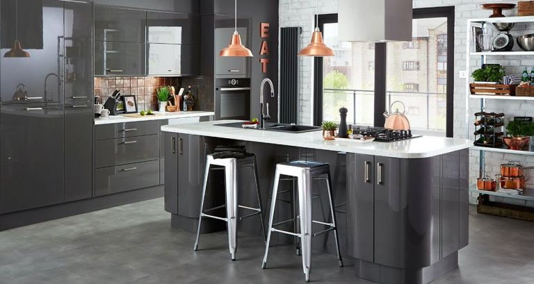 Grey Kitchen Colour Scheme