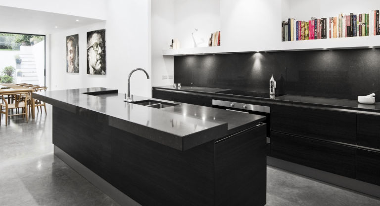 Black And White Kitchen Colour Scheme