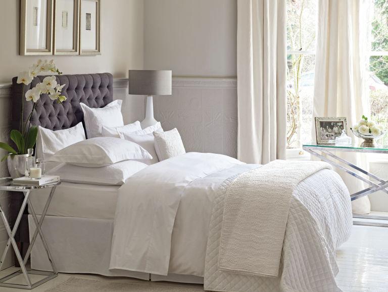 white bedroom scheme. Bedroom colour schemes