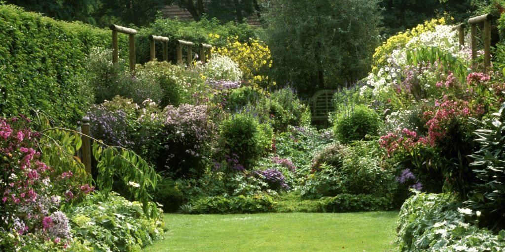 How to grow and english country garden for English garden design