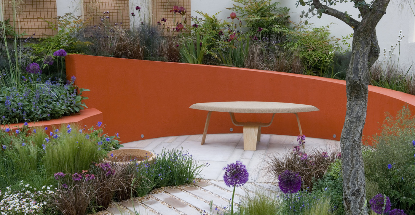 Garden design ideas for small backyards gill oliver for The best garden design
