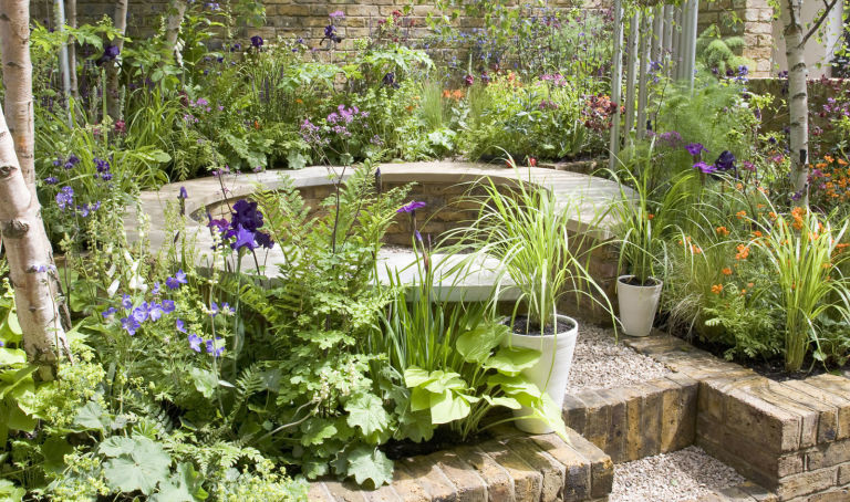 Garden Design Easy Maintenance 4 garden designs and layouts - photo ideas to suit your lifestyle