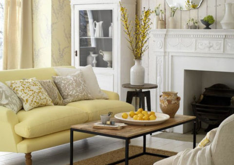 Spring decorating ideas for Spring living room decorating ideas