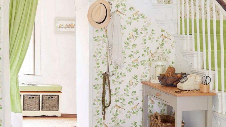 hallway laura ashley wallpaper - Decorating Ideas Hallways