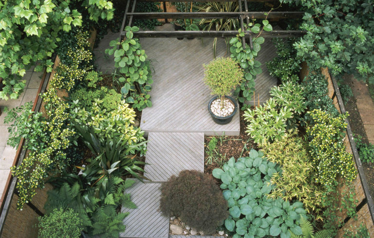 Top 28 creating a small garden modern tiny backyard for Creating a small garden