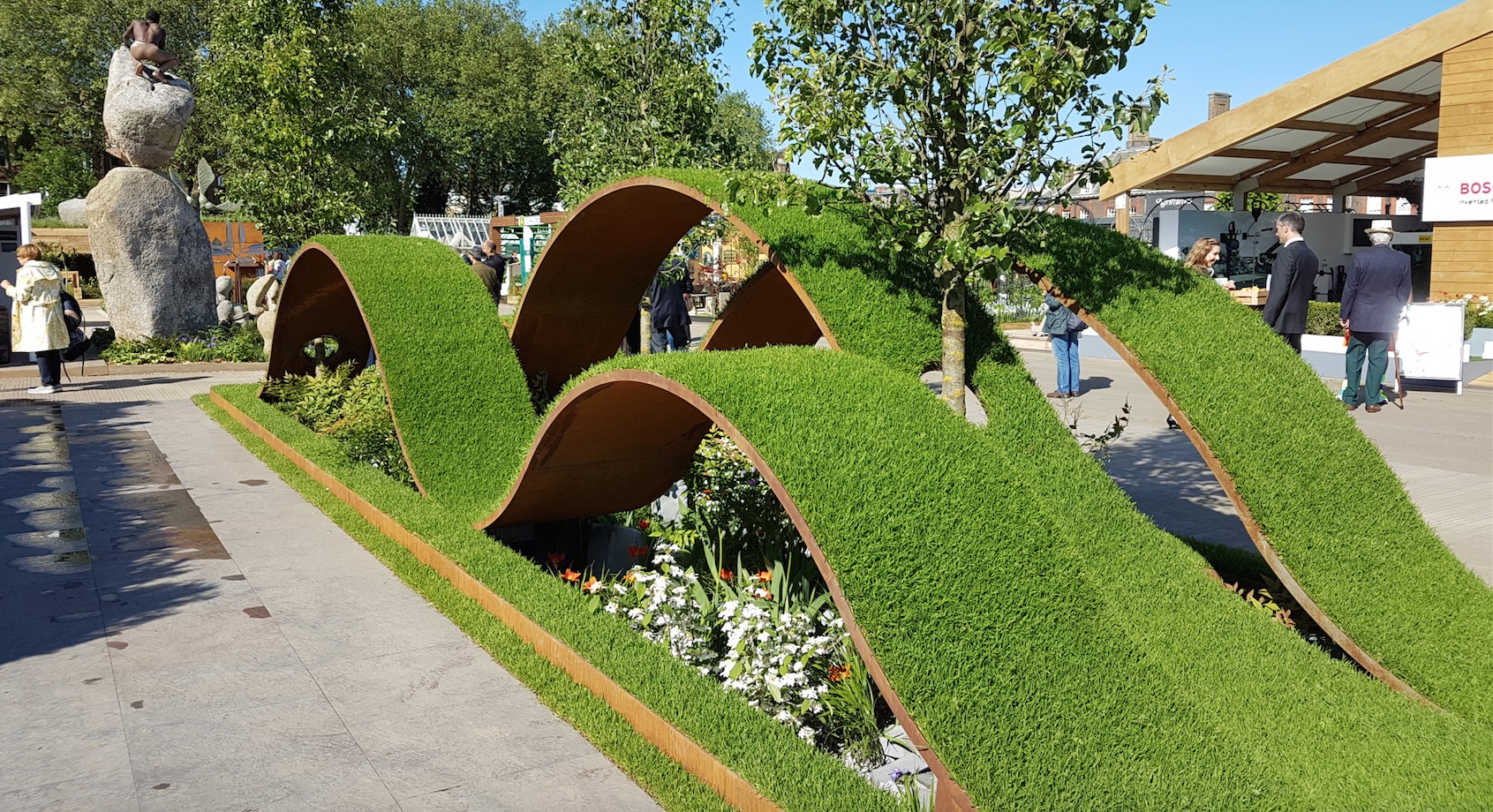 Chelsea flower show 2016 photos and highlights for Chelsea flower show garden designs