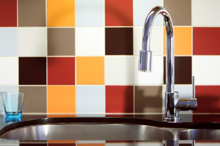 Kitchen Tiles Orange ask the expert: jo behari explains how to revamp kitchen tiles
