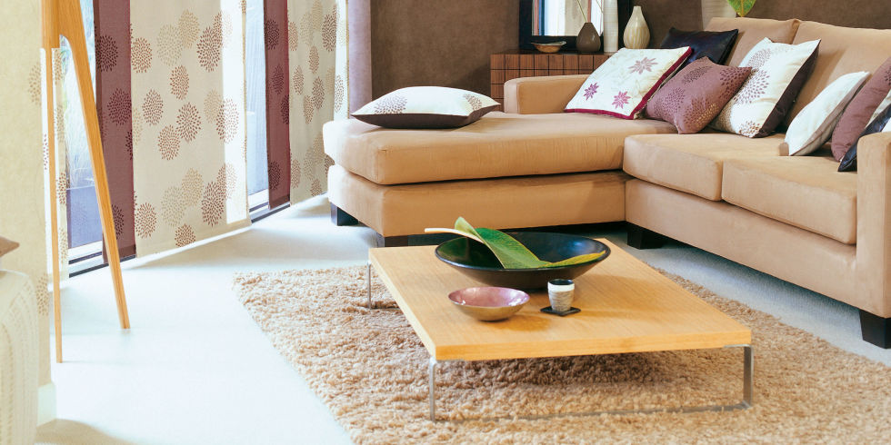 Where to place a rug in your living room roselawnlutheran for Rug placement living room