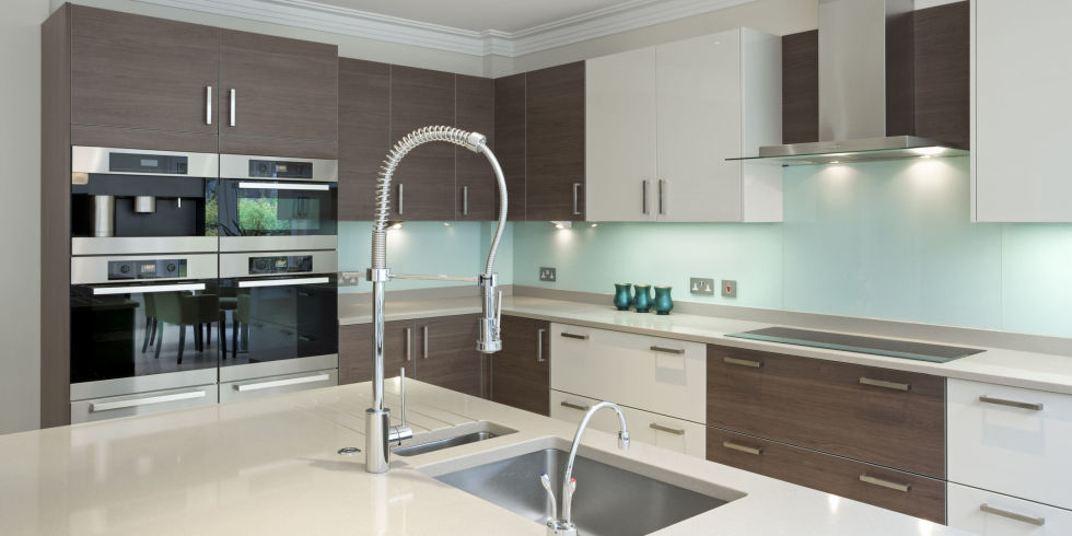 Fine Modern Kitchen Colours Bold Design Black And White M To