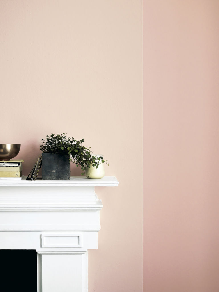 Fired Earth versatile orchard pink paint