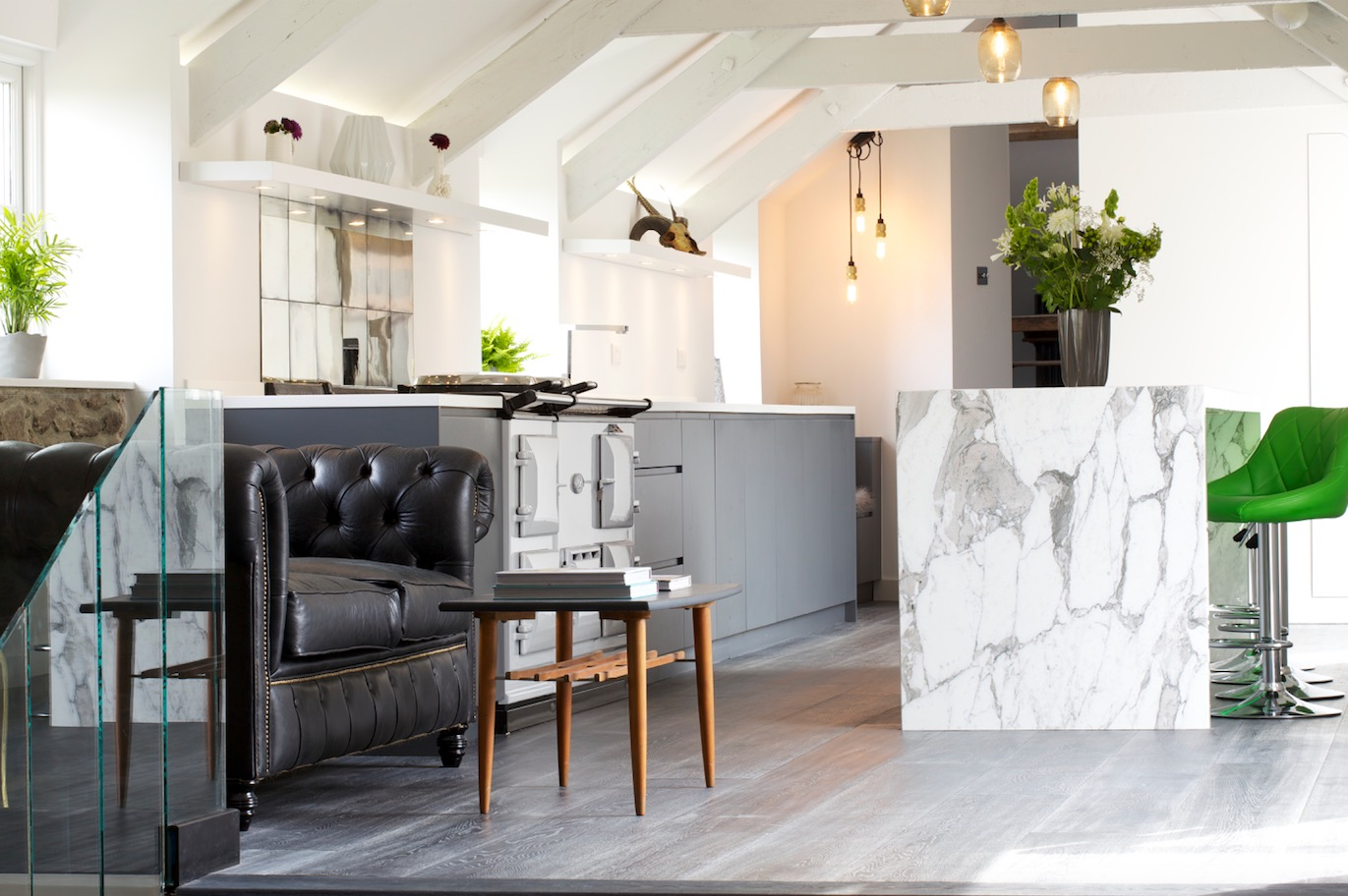 a contemporary kitchen extension filled with light the marble kitchen papilio