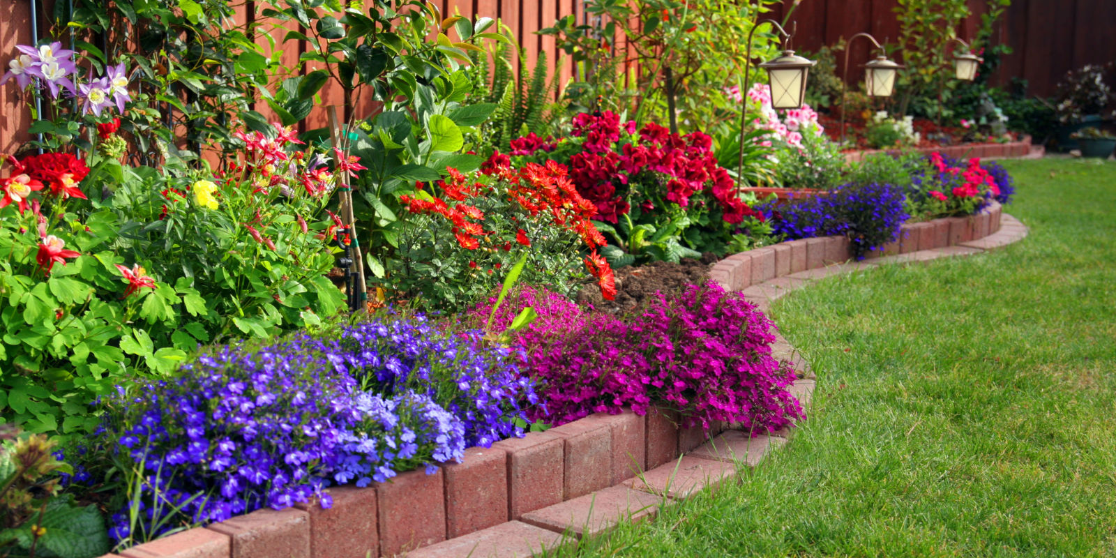 How to make it look like you hired a garden designer for Beautiful garden ideas