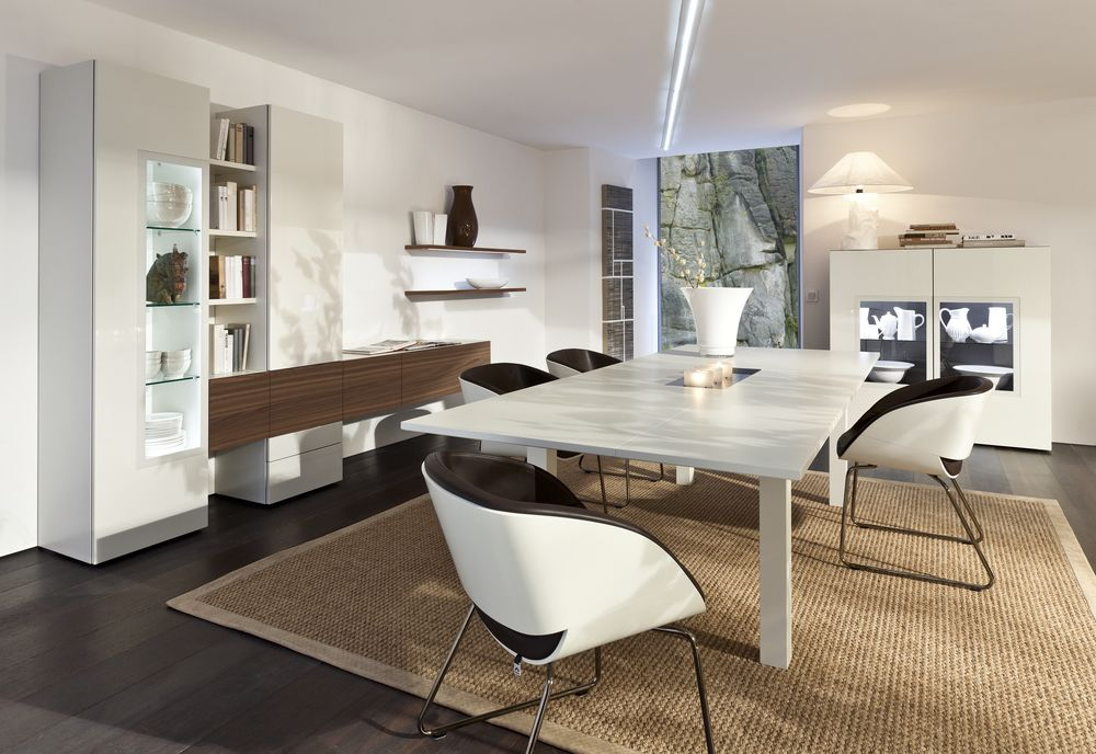 Storage ideas for laid back dining rooms for Beautiful dining area
