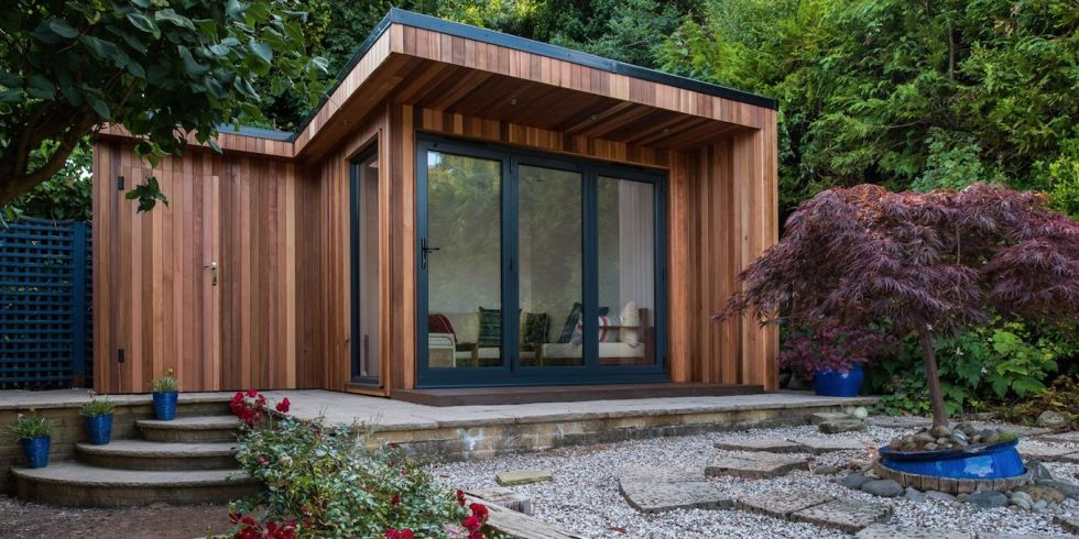 How to create the perfect garden room to house grown up children