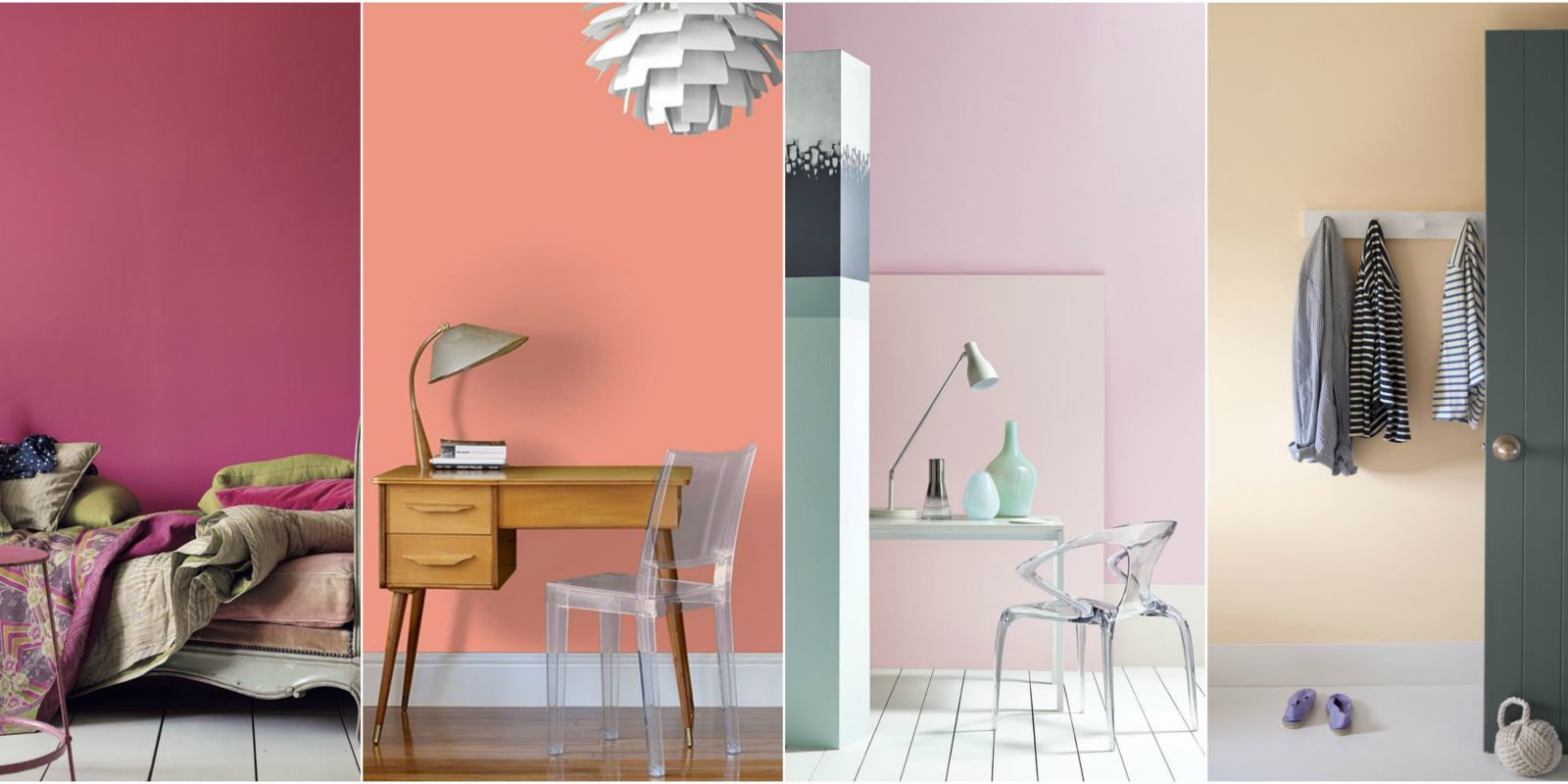 Paint shades how to use gorgeous shades of pink in your home for What type of paint to use on bedroom walls