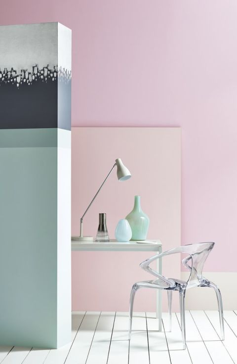 Paint shades how to use gorgeous shades of pink in your home - Crown exterior wood paint colours ...