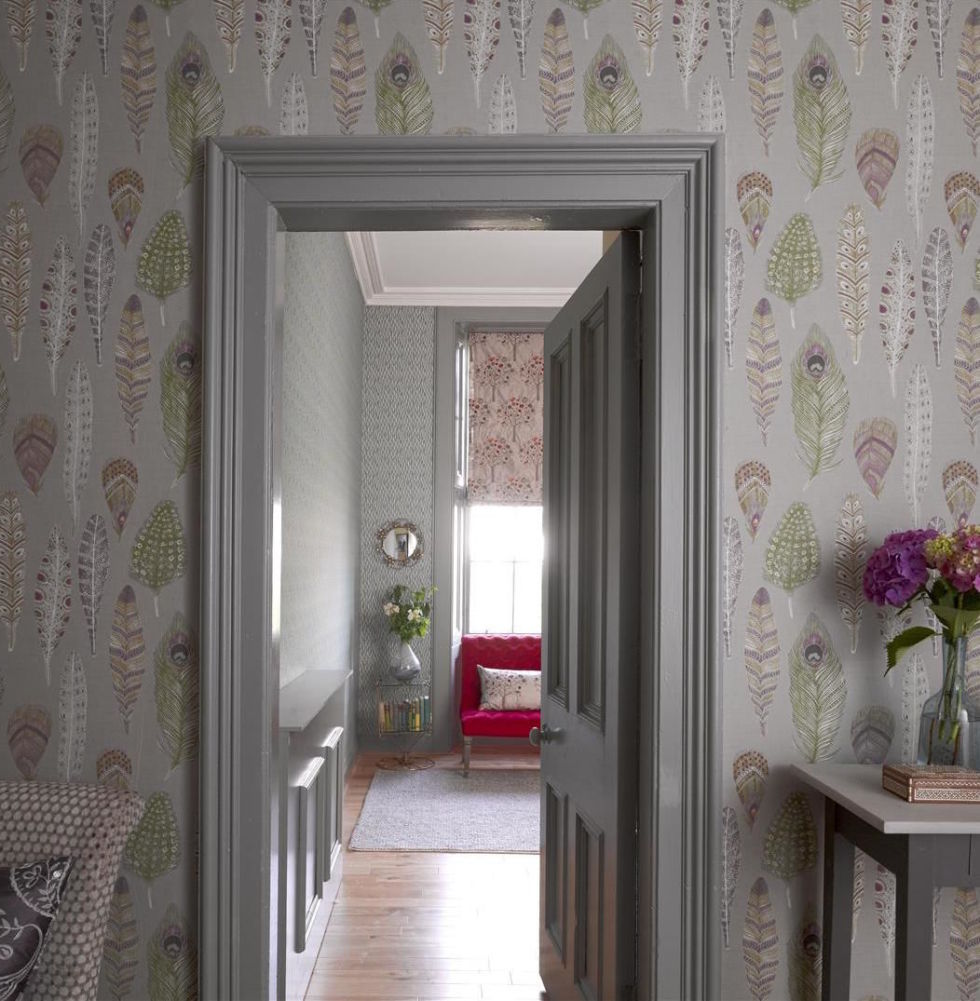 Wallpaper For House Walls 16 Hallway Decoration Ideas Using Wallpaper