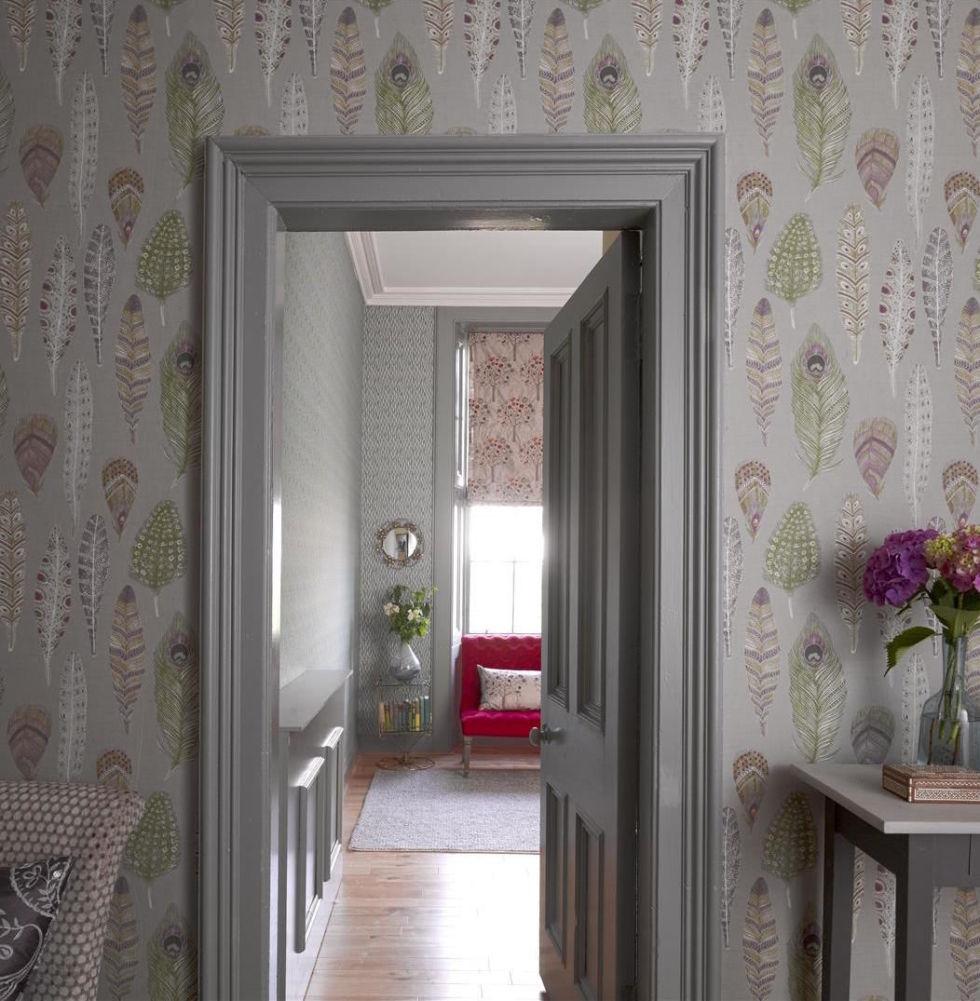 16 hallway decoration ideas using wallpaper amipublicfo Choice Image