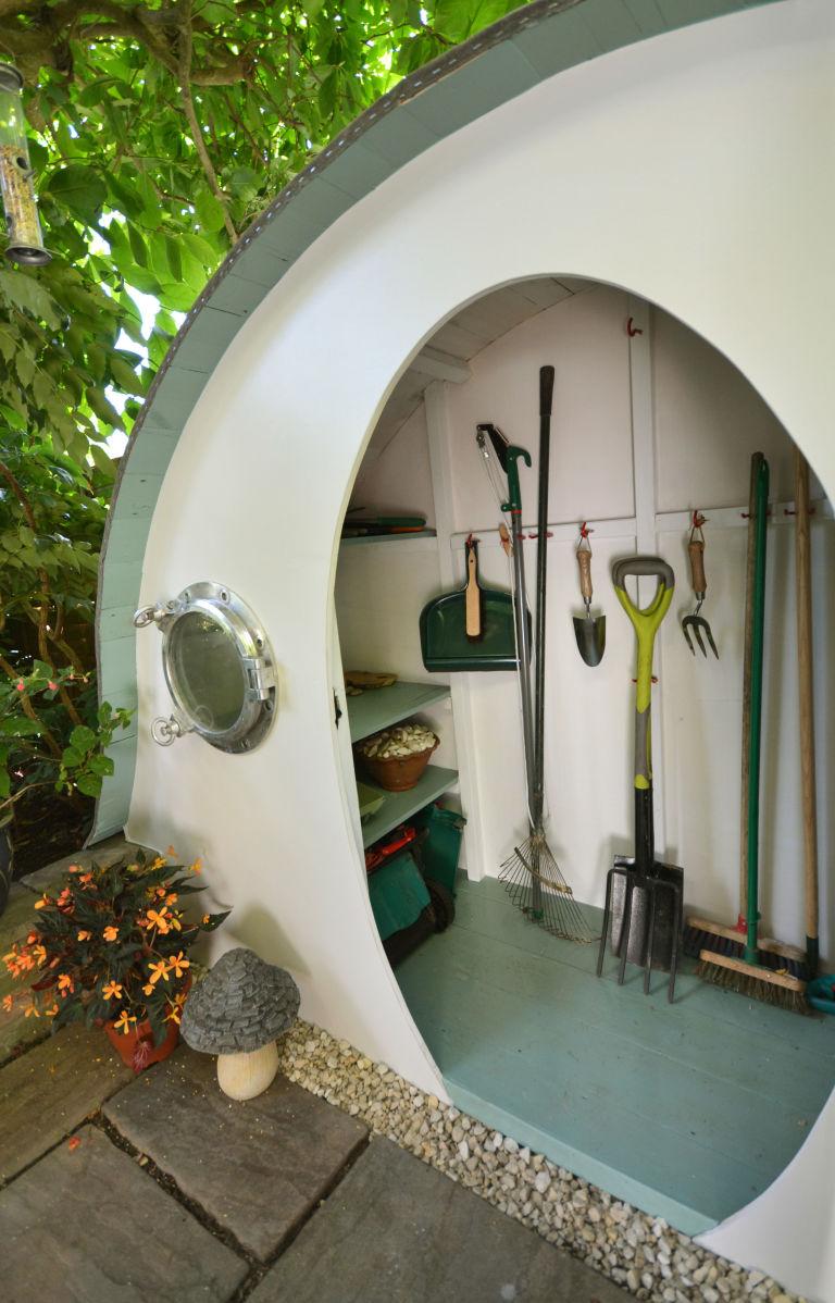 Hobbit House Garden Shed By Lili Giacobino