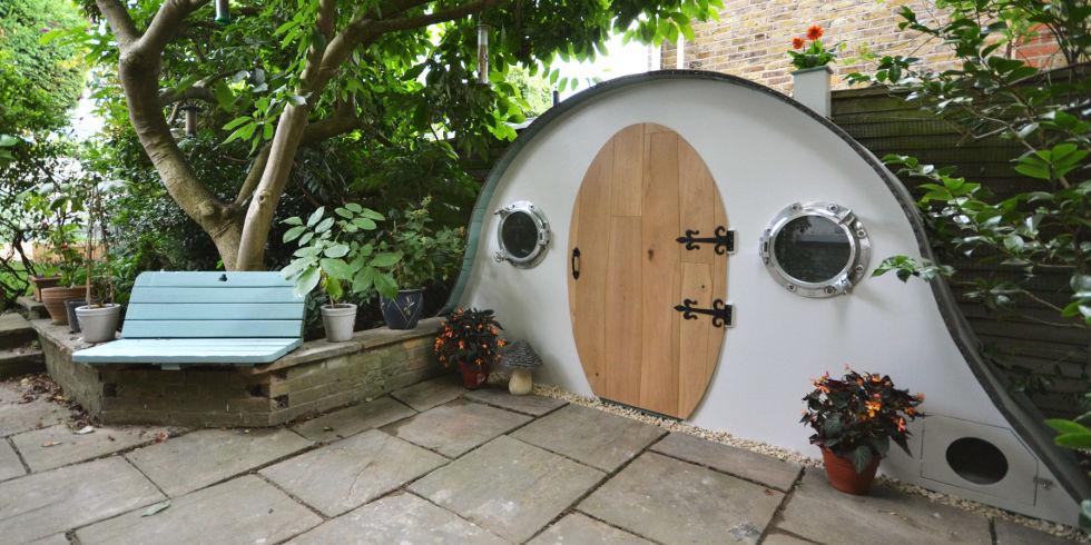Amazing Hobbit House Garden Shed By Lili Giacobino