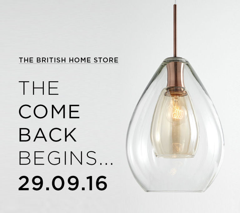 British Home Bhs Relaunch