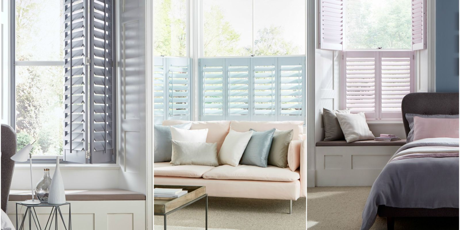 House Beautiful Collection Hillarys Stunning New Atmosphere Shutters Range Stylish