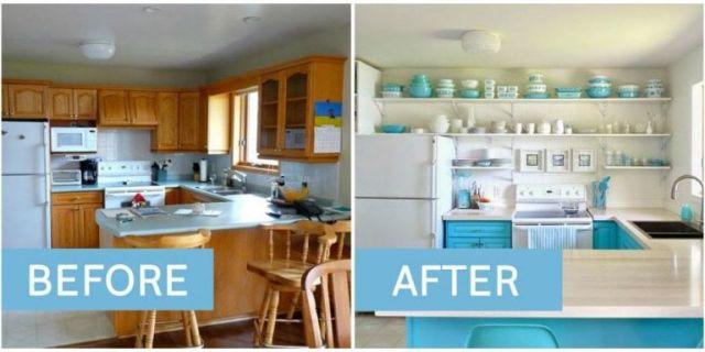 01. 10 Beautiful Kitchen Transformations ...