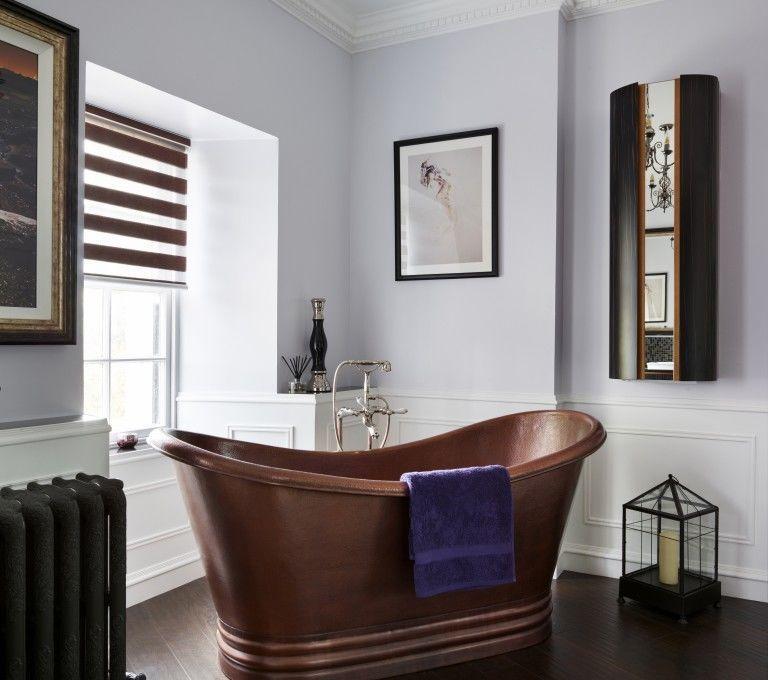 Copper Bath In A Bathroom