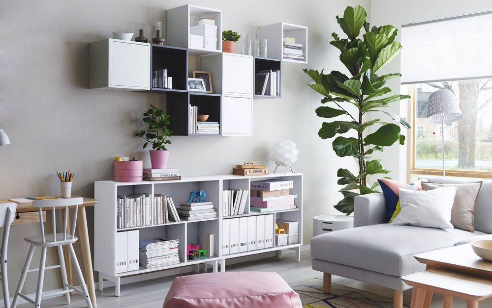 Living Room Helves living room storage solutions: media units, wall-mounted shelves