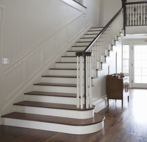 Interior staircase design ideas repairing replacing or for Modern stairs tiles design building work latest technology