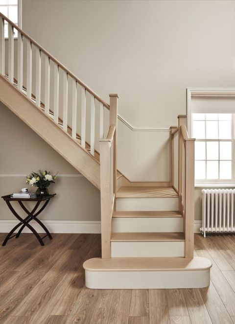 how to clean old wooden banister