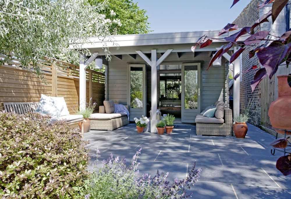 Garden Room Of Victorian Cottage Is Now The Perfect Outdoor Sanctuary