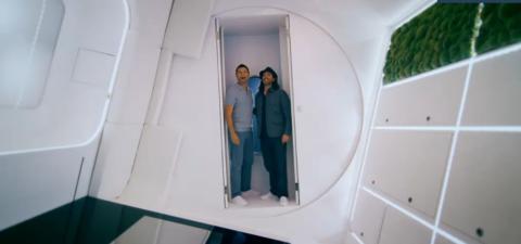 George Clarke And William Hardie Unveil Futuristic Space Saving Rotating Home