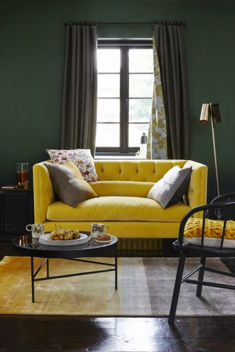 Autumn Style Inspiration Yellow Ochre Russet And Copper