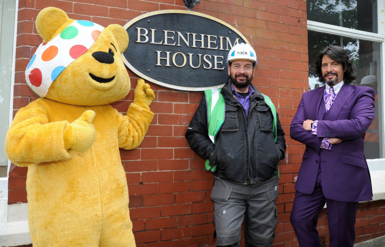 DIY SOS Million Pound Build For BBC Children In Need