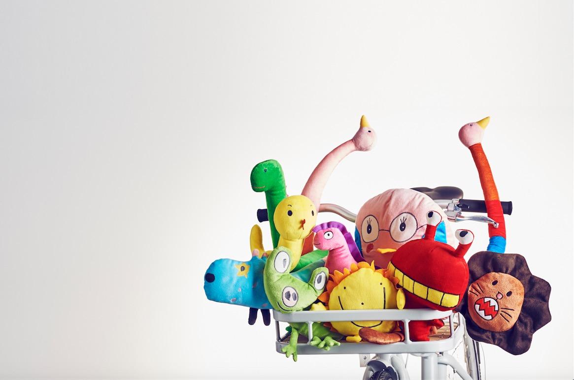 Ikea enlist children to design soft toys for new range for Ikea children toys